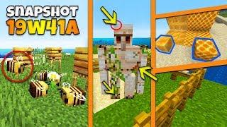"""Minecraft Snapshot 19w41a - """"Pszczoły, bloki miodu, nowości!"""""""