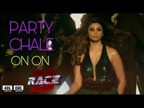 Race 3 New song Party chale on on | Mika Singh | Salmam khan | Jacqueline fernandez | daisy Shah