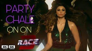 Race 3 New song Party chale on on | Mika Singh | Salmam khan | Jacqueline fernandez | daisy Shah