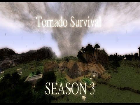 Minecraft Tornado Survival Season 3 Episode 2-TWO STORMS