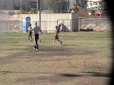 Isaiah Skinner's Touchdown Pass to Anton Mozga