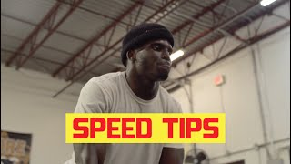 SPEED TIPS w/ @Deestroying  | Tyreek Hill Workouts