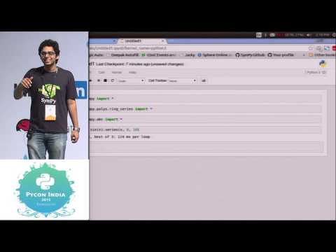 Image from Lightning Talk - SymPy - PyCon India 2015