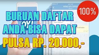 Download Video Tutorial ! Cara Termudah Dapat Pulsa Rp.20.000,- Works 100% 2018 #InspirationNEW MP3 3GP MP4