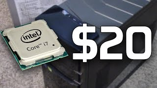 The $20 Core i7 PC! - Garage Sale Finds
