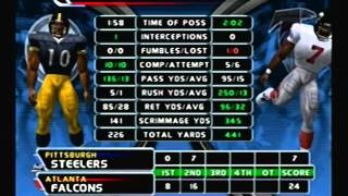 NFL Blitz 2003 - Atlanta Falcons at Pittsburgh Steelers