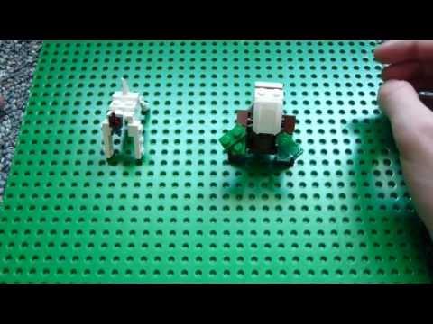 Lego Pokemon Instructions Part 4 Vigoroth And Shiftry