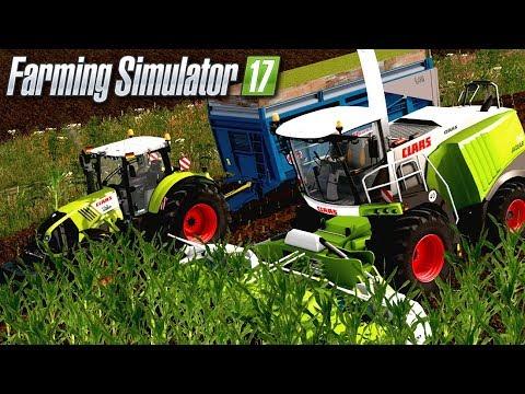 UNE BELLE ENSILEUSE !!! 😍 100% CLAAS Et 100% VUE INTÉRIEURE - Farming Simulator 17