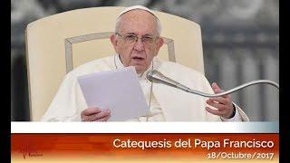 Catequesis en español del Papa Francisco 18/10/2017 HD