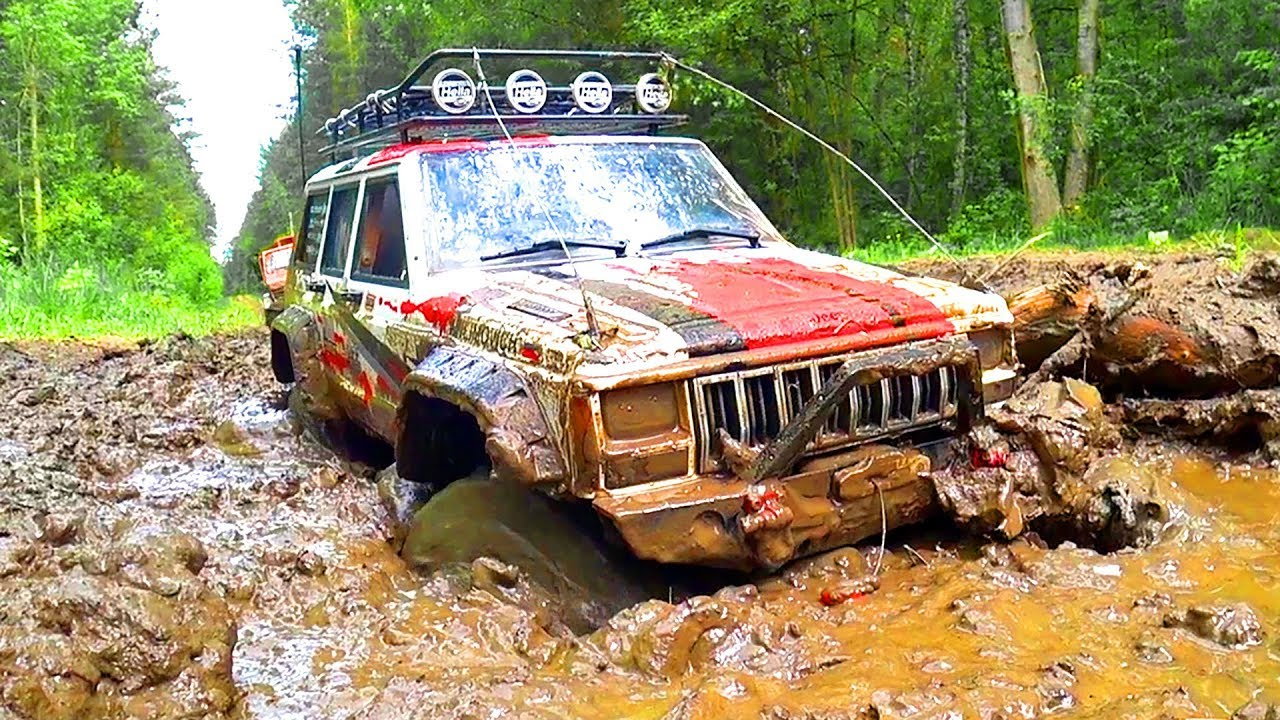 RC Cars MUD OFF Road – Jeep Cherokee, Land Rover Defender, Axail Wraith | Wilimovich
