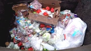 CORPORATE STORES THROW IT IN THE TRASH- WE RESCUE IT