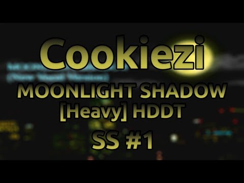 Cookiezi | MISSING HEART - MOONLIGHT SHADOW (New Vocal Version) [Heavy] HDDT SS #1