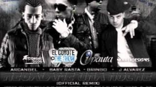 J Alvarez Ft. Arcangel y Baby Rasta & Gringo - Regalame Una Noche (Official Remix)