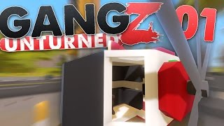 Unturned Hawaii: GangZ   Defend the Coaster Helicopter!!   Ep. 01 ( Hawaii Map )