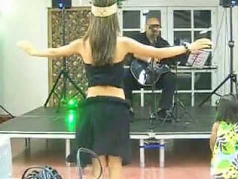 More Tahitian Dance by Ka'iulani; Tyler's Graduation Party, June 30, 2013