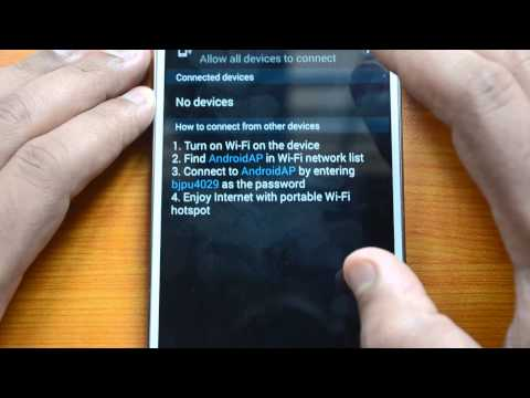 Does samsung galaxy note 3 have mobile hotspot