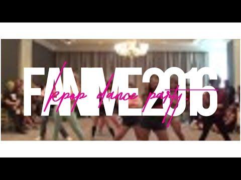 KPop Dance Party @ Fanime 2016