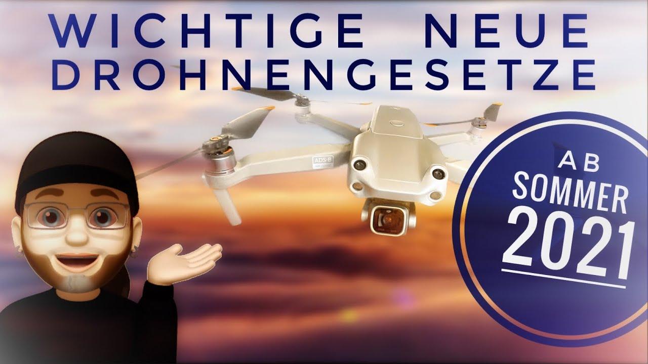 Neue wichtige deutsche Drohnengesetze ab Juli 2021 neue LuftVO