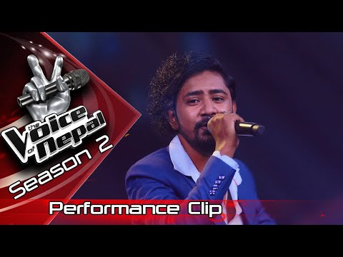 "Aarif Rauf ""Timilai Dekhera"" - LIVE -The Voice of Nepal Season 2 - 2019"