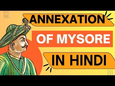 HIS/CHP-2: Annexation of Mysore