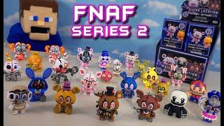 FNAF Mystery Minis - COMPLETE Series 2 Funko Set Checklist (FnaF 4 & Sister Location)