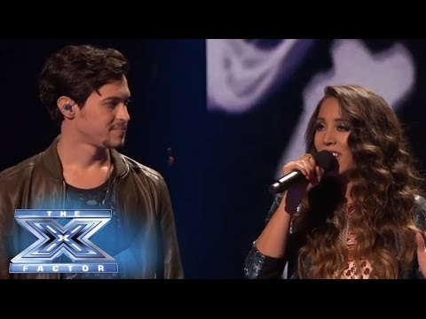 Top 3: Alex & Sierra Sing Bleeding Love with Leona Lewis  THE X FACTOR USA 2013