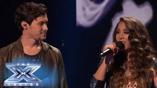 "Top 3: Alex & Sierra Sing ""Bleeding Love"" with Leona Lewis - THE X FACTOR USA 2013"