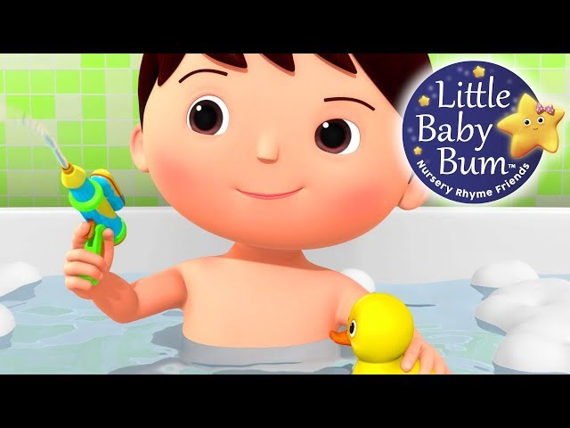 No No No! I Don't Want To Have A Bath | Nursery Rhymes | Original Songs By LittleBabyBum!