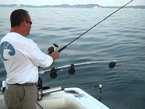Fishing Tips With Captain Mike Harney In Saugatuck, Michigan - Setting Downriggers And Tips