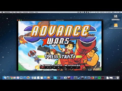 How To Install Advance Wars On MAC? [GBA Emulator Tutorial]