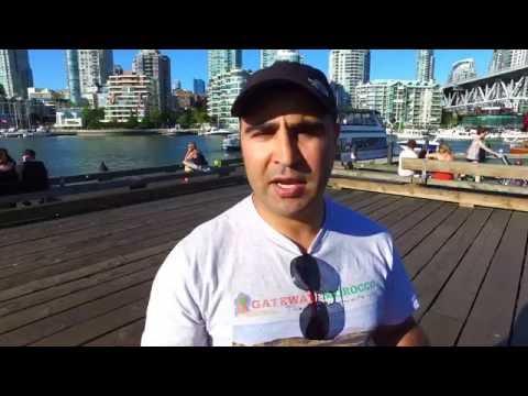Must See DJI OZMO 4K Granville Island Market Vancouver Canada