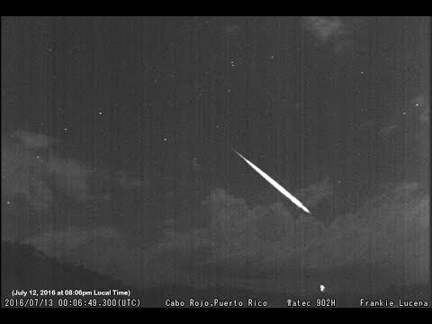 Audible Meteor: Simulated Sound