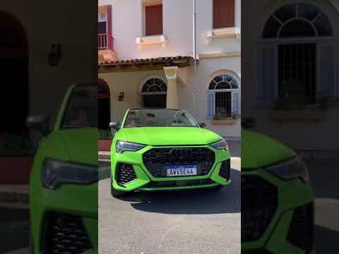 Novo Audi RS Q3! O SUV dos sonhos  #shorts