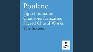 Sept Chansons: Belle et ressemblante (Eluard)