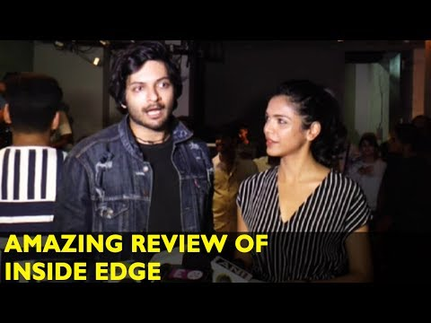 Ali Fazal And Shriya Pilgaonkar's AMAZING Review Of Inside Edge