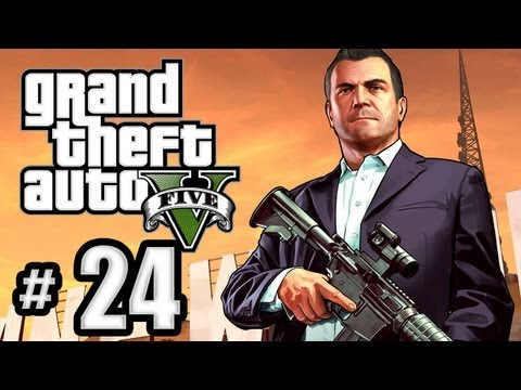 Grand Theft Auto 5 Gameplay Walkthrough Part 24 - I Fought the Law