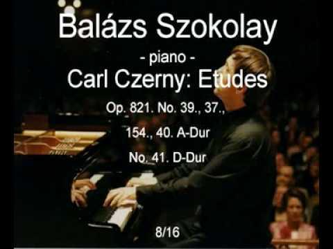 Carl Czerny: Etudes - Balázs Szokolay - 8/16