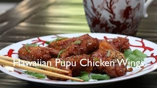 Hawaiian Pupu Chicken Wings Recipe