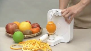 チョイむきsmart 獨家專利旋轉削蔬果皮輕便器具( 橘子、奇異果、葡萄柚 )削皮機
