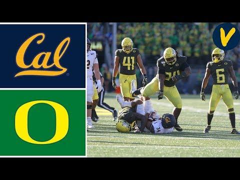 Cal vs #13 Oregon   Week 6   College Football Highlights   2019