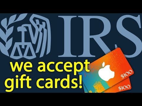 Desperate IRS scammer asks for gift cards