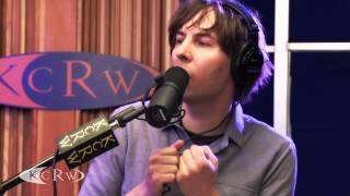 """Phoenix performing """"Trying To Be Cool"""" Live on KCRW"""