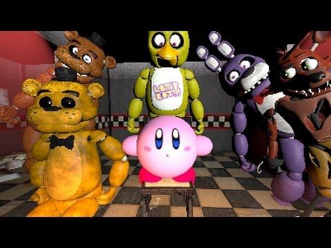 Kirby Works At Freddy FazBears Pizza