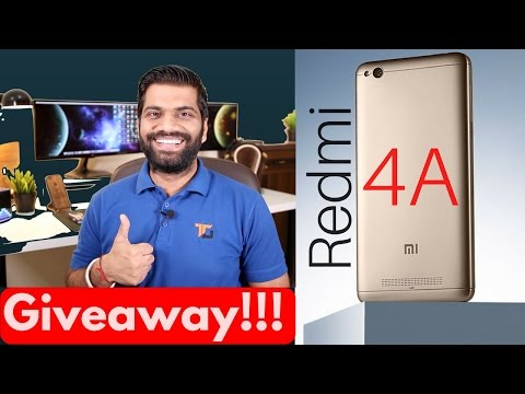Xiaomi Redmi 4A - Power to Everyone? Giveaway!!!