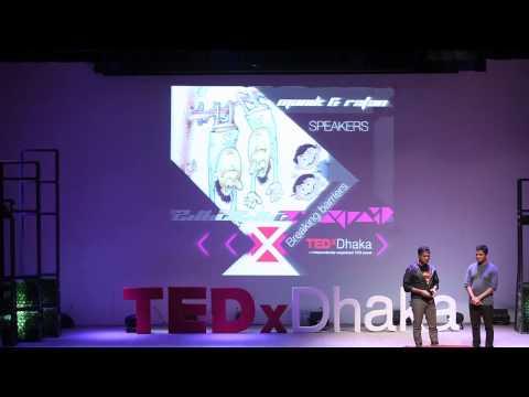 Cartoons - Striving for what we love   Manik & Ratan   TEDxDhaka