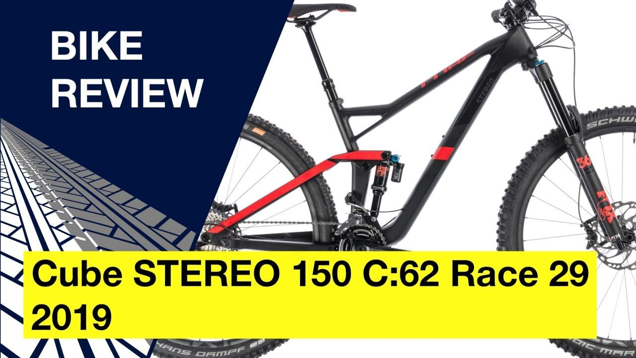 new high quality half price run shoes Cube STEREO 150 C:62 Race 29 2019: Bike review