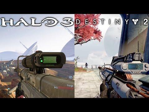 Halo Easter Eggs In Destiny (Destiny 2) - Bungie Easter Eggs