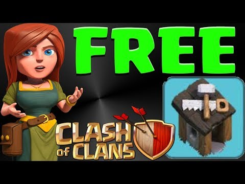 How To Get A *FREE* Builders Hut In Clash Of Clans!