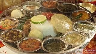 Thali Meals at Cary Diwali 2017 Exhibition