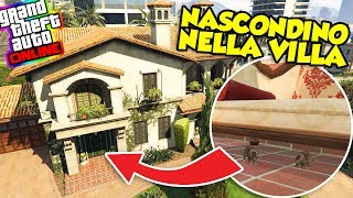 Gta 5 ITA - Nascondino con gli animali nella villa!!